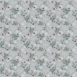 Texas Christmas Pattern
