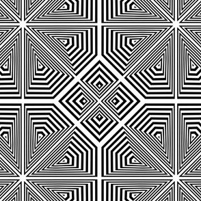 optical illusions - stars and squares