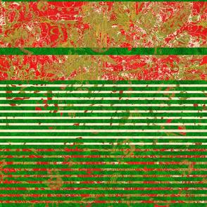 Christmas Festival: Big Bold Christmas Stripes - Horizontal