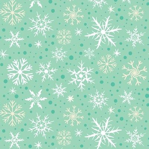 Festive Flakes on Mint