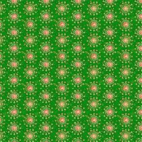Mini Print: Christmas Festival - Spindly Flowers