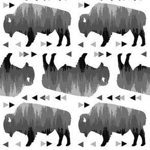 bison pattern b