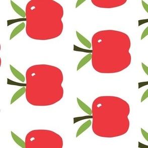 Red Apples - Tea Towel