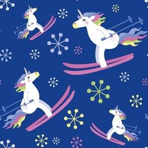 unicorn skiing