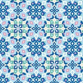 kaleidoscope colors pastel