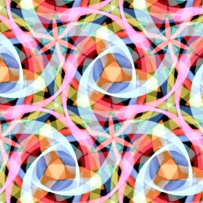 kaleidoscopic brushstrokes