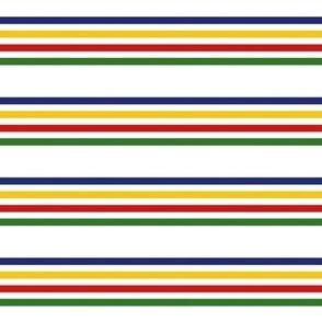 Canada stripe horizontal