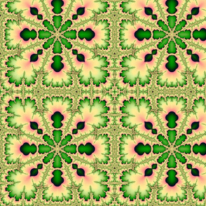 fractal kaleidoscope-ed