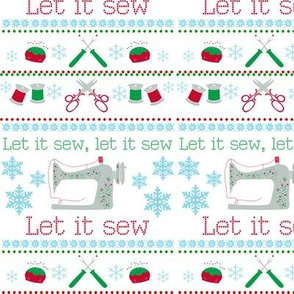 Christmas Sewing Machines