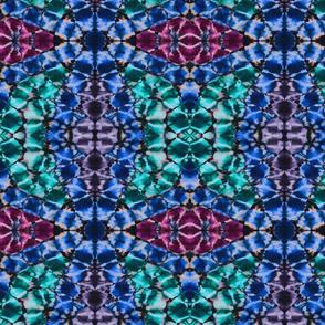 Shibori colorful Kaleidoscope