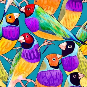 flock-o-finches