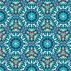 Kaleidoscope Teal