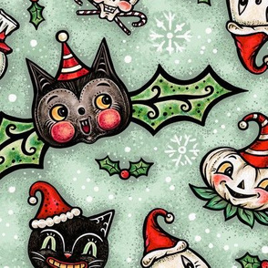 Large Spooky Christmas Scatter