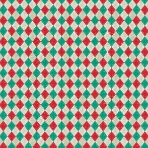 Mini Checkered Diamond Holiday Light