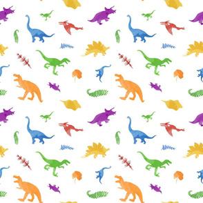 Rainbow Dinos