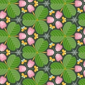 Clover meadow kaleidoscope green