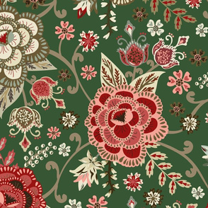 Classic Chintz - Evergreen