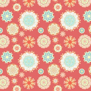 Changing scenes of kaleidoscope