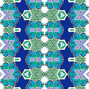 Bohemian Kaleidoscope flowers