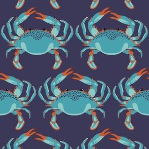 Blue Crab Jubilee // MEDIUM NAVY