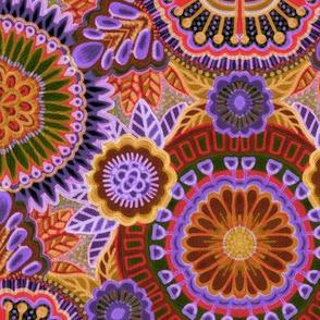 Kaleidoscopic Floral
