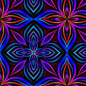 Vibrant Spectrum Kaleidoscope