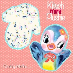 Kitsch plushie - bluebird
