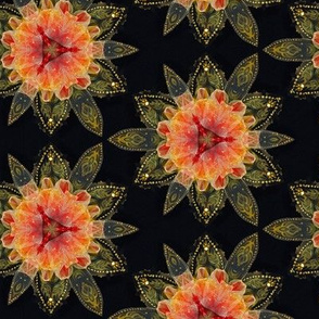 Mandala Lotus Flower Kaliedoscope