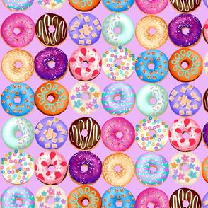 Lavender donuts