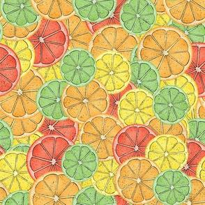 Pop Art Citrus
