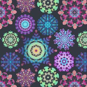 Kaleidoscope  jewel mandalas