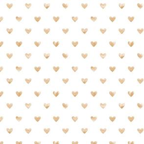 Tender hearts // mustard ochre yellow