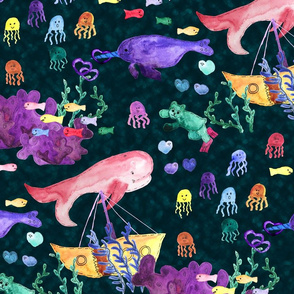 Whimsical Underwater Wonderland