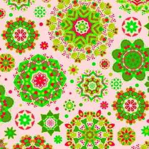 Candy Colored Kaleidoscope//Festive