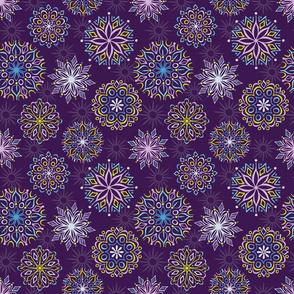 Winters Eve Kaleidoscope