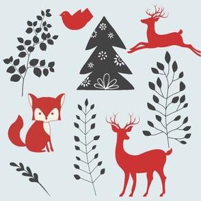 Reindeer in Wonderland