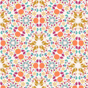 Scandinavian Fall Kaleidoscope
