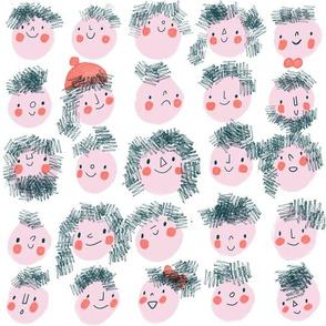 Hairy Heads