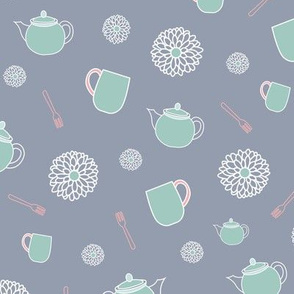 Green Teapots