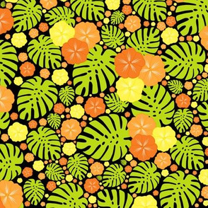 Tropical Chintz Lemon and Papaya