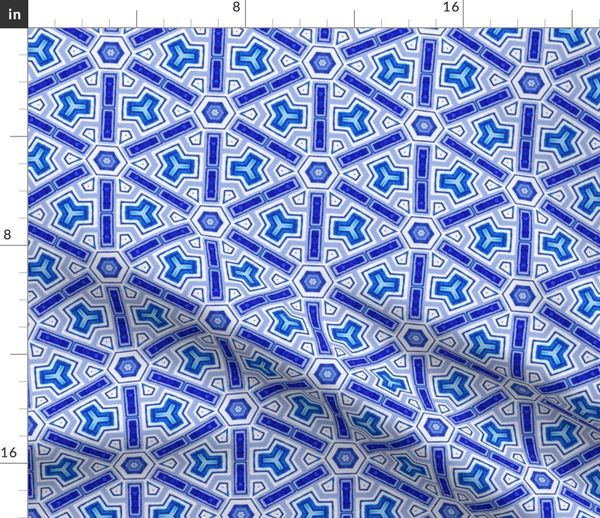 Ikat Mosaik Marokkanisch Fliese