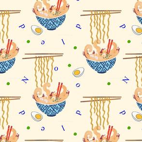 Noodled