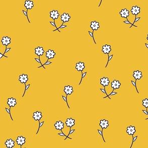Dancing Daisies in Sunshine