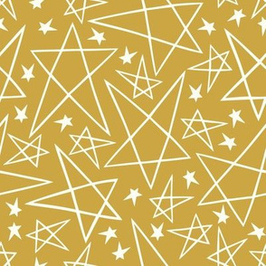 Christmas Star in Gold