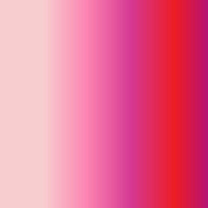 19-14n Valentine Blush Hot Pink Magenta Purple Plum Red Fuchsia Ombre Gradient Blender Quilt Coordinate Solid Stripe