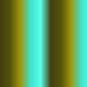 19-14m Turquoise Blue Olive Forest Green Ombre Gradient Blender Stripe Solid