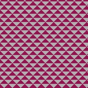 Red and grey triangles