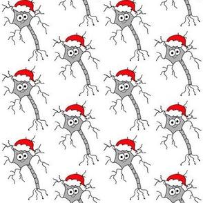 Christmas Neuron - on white