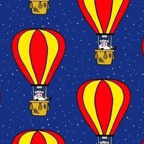 Hot Air Balloon Cow