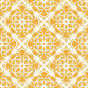 Yellow Grunge Tile